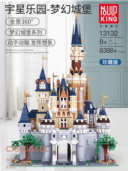 Compatible 16008 Disneys Cinderella Princess Magic Castle 71040 Bricks Model Building Blocks Kids Toys Bricks City Friend Street new sluban building bricks 815pcs blocks princess cinderella sapphire castle compatible friends education diy kit gift toys girl