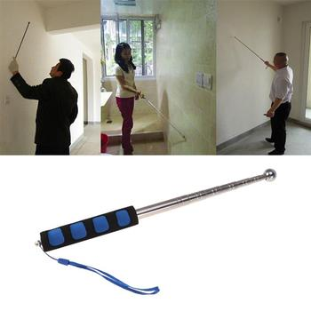 цена на 98CM Hollowing Drum Hammer Sound Detection Hammer Home Inspection Tool Telescopic Rod Detection Hammer Test Hammer (Blue)