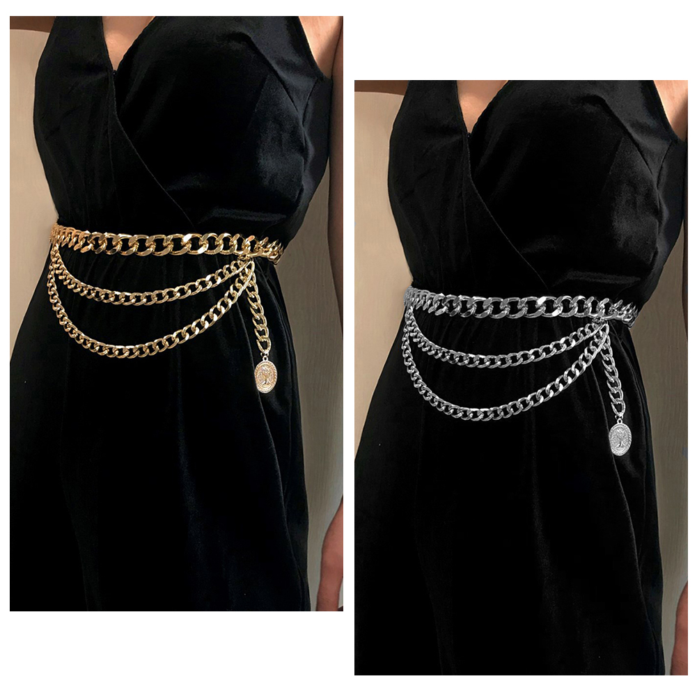 New Pants Belt Chain Clothing Accessories Multi layer Waist Chain Hip Hop Tassels Fashion Special Appearance Choker Jewelry gift
