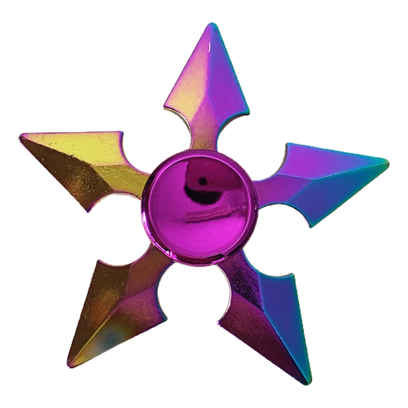 Toy Fidget-Spinner Lotus-Stress Metal Relief Colorful New Gift Dart Butterfly Kids img4