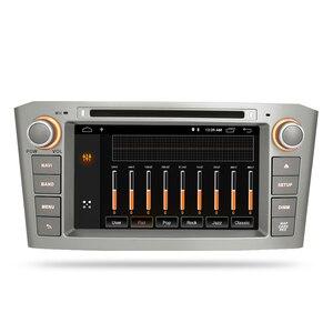 Image 3 - ذاكرة الوصول العشوائي أندرويد 10.0 مشغل أسطوانات للسيارة ستيريو الوسائط المتعددة سماعة لتويوتا أفينسيس/T25 2003 2008 راديو تلقائي لتحديد المواقع والملاحة الفيديو والصوت