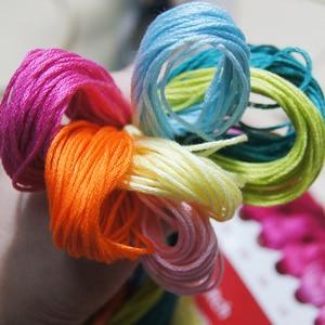 Image 5 - Joy Sunday the Iris Counted DIY Handmade DMC 14ct and 11ct Cross stitch kit and Precise Printed Embroidery set Needlework