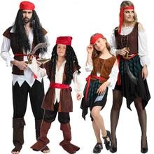 2019 Tema di natale di Compleanno Costumi Per Bambini Ragazzi Pirata Costume Cosplay Set Per Bambini di Halloween Di Natale Per I Bambini I Bambini