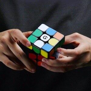Image 5 - Original Xiaomi Mijia Giiker M3 Magnetic Cube 3x3x3 Vivid สีสแควร์เมจิก Cube ปริศนาวิทยาศาสตร์การศึกษาทำงานร่วมกับ giiker APP