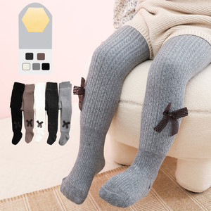 1 to 12 Years Kids Pantyhose For Baby Super Warm Tights In Winter Cute Bowknot Kids Pantyhose With Fleece Inside Thicken