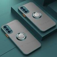 Funda de teléfono con soporte de anillo magnético, a prueba de golpes, para Samsung A72, A52, A32, 4G, 5G, S21, S20, S10, S9, S8 Plus, Note 10 PRO