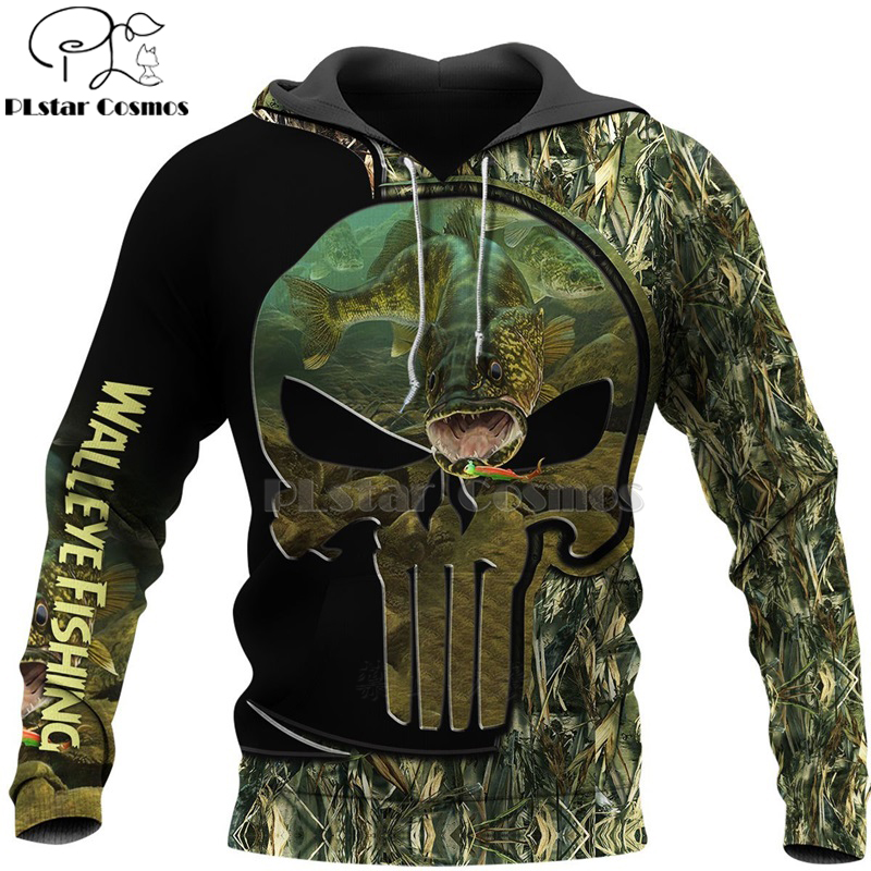 PLstar Cosmos New Fisherman fisher Fishing Art Harajuku casual Tracksuit Funny 3D Print Hoodies/Pullover/Jacket/Men Women-69