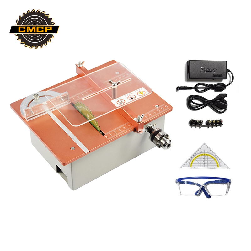 Mini Table Saw Machine DC 24V Table Woodworking Machine DIY Mini Circular Saw diy Cutting Machine