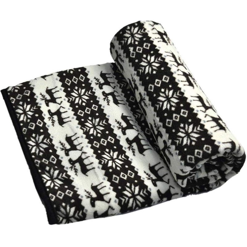 12v Car Heating Blanket Snowflake Elk
