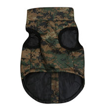 Dog Clothes For Small Dog Puppy Pet Fashion Camouflage Print Dog Coats Jacket Vest Winter Warm Cloth Jacket Pet Clothes 19NOV6(China)