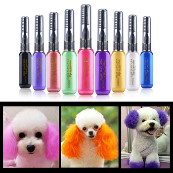 Temporary Hair Cream For Kids & Pets - 9 Colors - Washable - Birthday Party Fun!   1