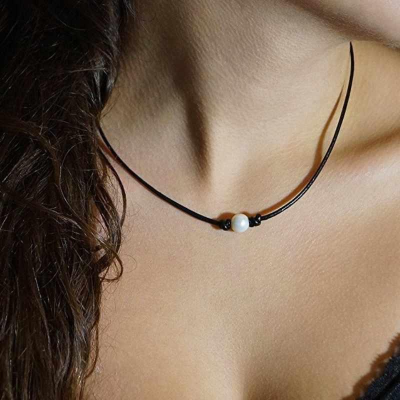 2019 Choker Moana Collares moda biżuteria nowy na życzenie Amazon Express w serwisie Ebay popularne proste trzy liny naszyjniki Colar Collier