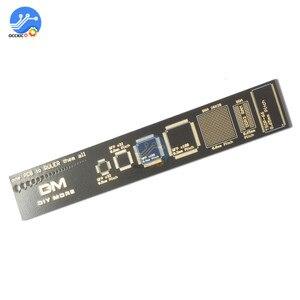 Image 3 - 4CM 15CM 20CM 25CM משולב PCB שליט מדידת כלי הנגד קבלים שבב IC SMD חבילה יחידות