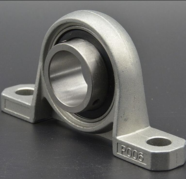 KP000 10mm Bore Diameter Zinc Alloy Pillow Block Mounted Housing Unit