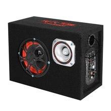 Speaker Subwoofers Active-Booster Hifi Car-Audio Stage 12V Cabinet KTV Boom 5inch