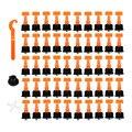 50 шт Пластиковые керамические плитки инструменты для выравнивания плитки выравнивания локатор т выравнивания системы наборы плитки разде...