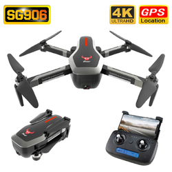 SG906 Drone GPS 4K HD Camera 5G WIFI FPV Brushless Motor Foldable Selfie Drones Professional 800m Long Distance RC Quadcopter