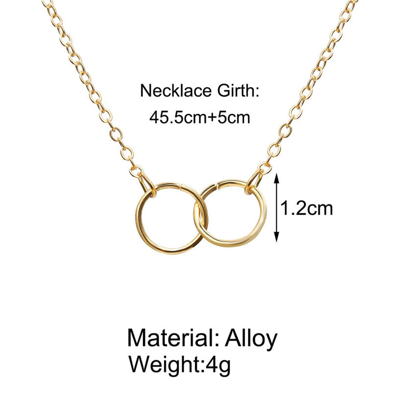 New Fashion Jewelry Pentagram Pendant Clavicle Chain Vintage Star Crescent Three-Layer Women Necklace Choker 4O24 (3)