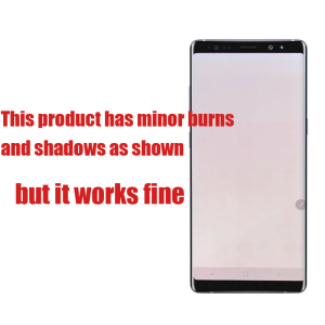 Image 4 - 100% SUPER AMOLED 6.3 LCD with Burn Shadow LCD for SAMSUNG Galaxy Note8 N9500 N950F N900D N900DS LCD Touch Screen Digitizer