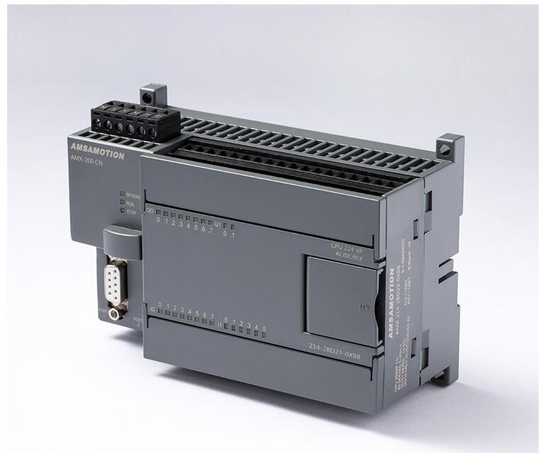 214-2BD23-0XB8 S7-200 PLC 224 CPU224XP 14I//10O  2AI//1AO Relay Type 220V AC Input