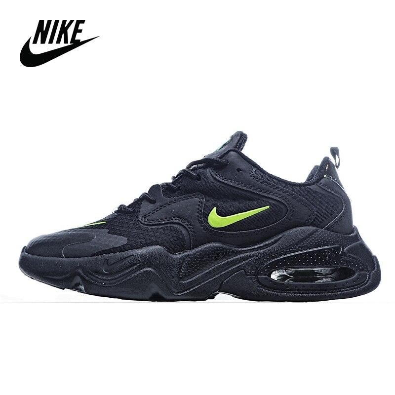 Galleria fotografica Originale <font><b>Nike</b></font> Air Max 2X 2020 <font><b>Nike</b></font> retro cuscino d'aria scarpe vecchie scarpe da corsa degli uomini di formato 40-45 AT6175-110