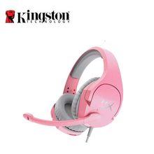 Kingston – casque de jeu HyperX Cloud Stinger pour fille rose, écouteurs avec Microphone, pour PC, PS4, Xbox, Mobile