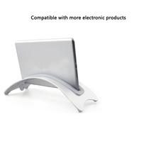 Antypoślizgowe akcesoria ze stopu aluminium stabilna oszczędność miejsca stojak na laptopa przenośna podstawa biurkowa pionowa dla Macbook Pro Air tanie tanio Woopower CN (pochodzenie)