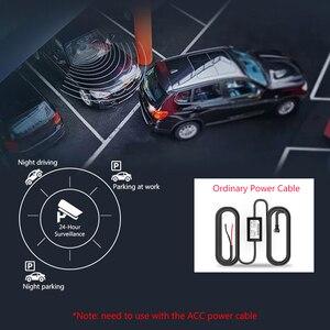 """Image 5 - جانسايت 10 """"جهاز تسجيل فيديو رقمي للسيارات تيار وسائل الإعلام مرآة عدسة مزدوجة مسجل فيديو شاشة تعمل باللمس مسجل داش كام التحكم الصوتي 1080P كاميرا خلفية"""