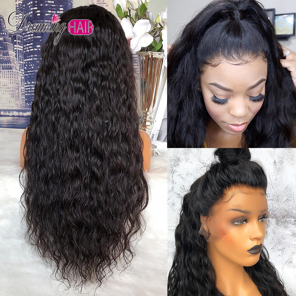 13X6 Deep Part Lace Front Human Hair Wigs For Black Women 180% Curly Lace Front Wig Remy Brazilian Wig Pre Plucked Baby Hair