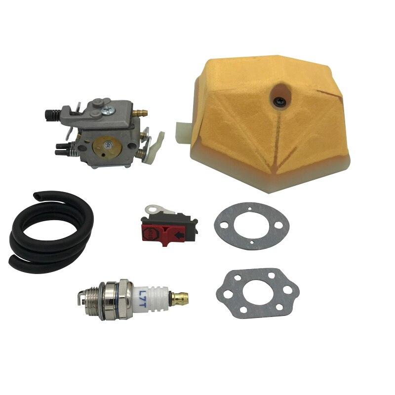 Carburetor Air Fuel Line Hose Walbro For HUSQVARNA 51 55 Rancher Chainsaw Filter