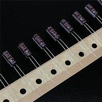 10 pces 22 uf 50 v nippon ncc ky série 5x11mm baixo capacitor eletrolítico de alumínio esr 50v22uf