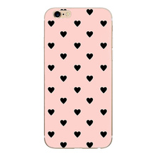 Heart Print Case For Iphone 6 S 6S Cover Phone Accessories F