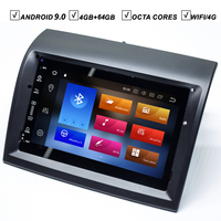 Car Android 10.0 NO DVD GPS Player for FIAT Ducato 2006 2017 CITROEN Jumper PEUGEOT Boxer Radio BT Mirror Link Map WIFI 4GB+64GB