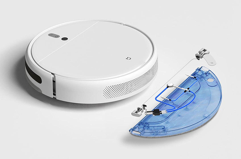 Ha40877dbc18a4e9dbc14a9c6ae0afaa37 XIAOMI MIJIA Mi Sweeping Mopping Robot Vacuum Cleaner 1C for Home Auto Dust Sterilize 2500PA cyclone Suction Smart Planned WIFI