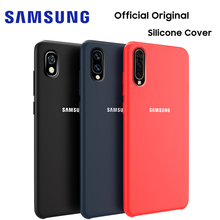 Samsung A50 Case Official Original High Quality Soft Silicone Protector Galaxy A10 A20 A30 A70 Back Cover