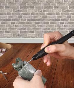 Image 5 - Goxawee mini broca elétrica, máquina de perfuração, com ferramentas elétricas, acessórios
