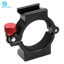 BGNing Ring Mount Holder Clamp w Hot Shoe for Microphone LED Video Light Field Monitors Mobile Videomakers for Zhiyun Smooth 4