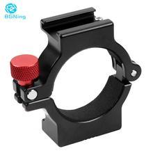BGNing Vòng Gắn Giá Đỡ Kẹp W Giày Nóng Cho Micro Đèn LED Video Trường Màn Hình Di Động Videomakers Cho Zhiyun Smooth 4