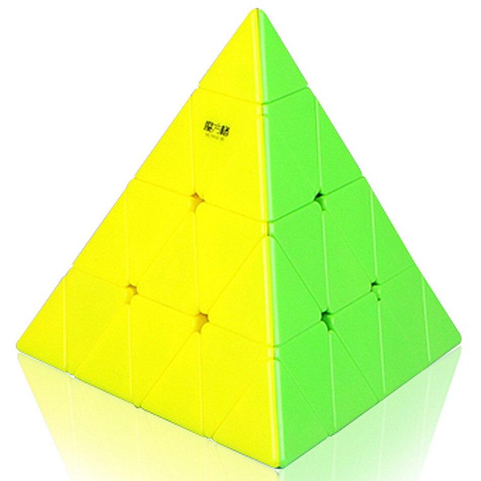 Qiyi 4x4x4 Pyramid Speed Cube QIYI Pyramid 4×4 Puzzle Magic 4×4 Puzzle Pyramid cube Children Education Toys img4