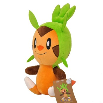 Pokemon 10 Style Pikachu Chespin Eevee plush toys Jigglypuff Charmander Gengar Bulbasaur Animal Plush Stuffed Toys For children image