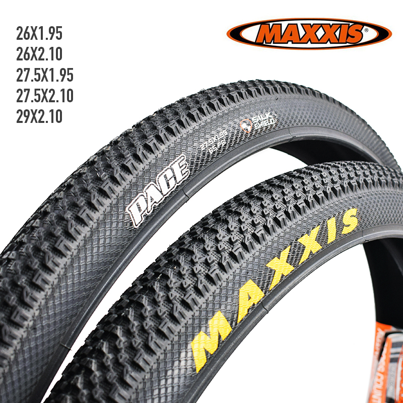 2pcs MAXXIS 26 Bicycle Tire 26*2.1 27.5*1.95 MTB Mountain Bike Tires 60TPI Anti Puncture 26*1.95 27.5*1.95 29*2.1 PACE Bike Tyre(China)