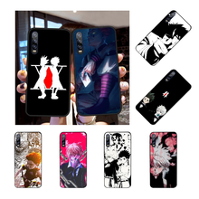 NBDRUICAI Hunter x Hunters comics Cover Black Soft Shell Phone Case for Huawei P30 P20 P10 P9 P8 Mate 20 10 Pro Lite(China)