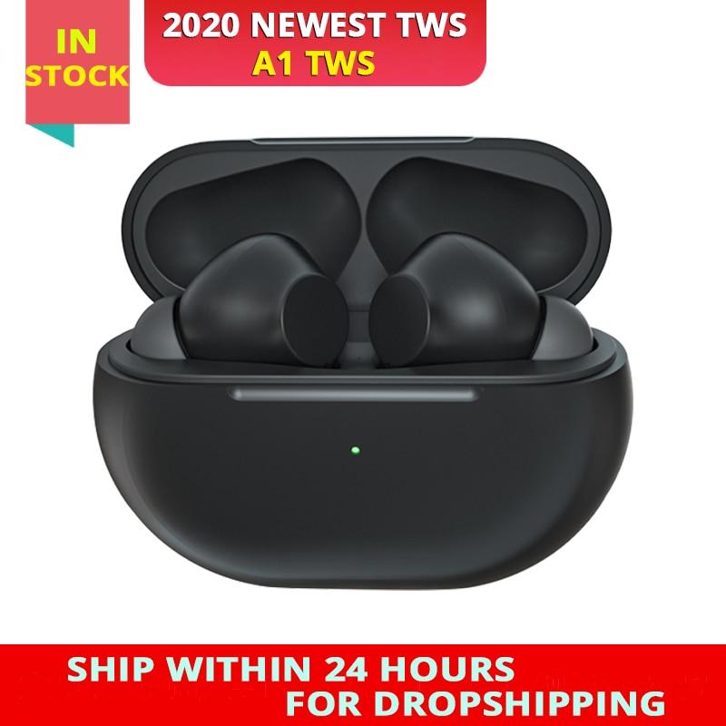 2020 New Original A1 TWS True Wireless Headphones Mini Bass Earphone Bluetooth Headset Sports Earbuds With Charging Box Micropho