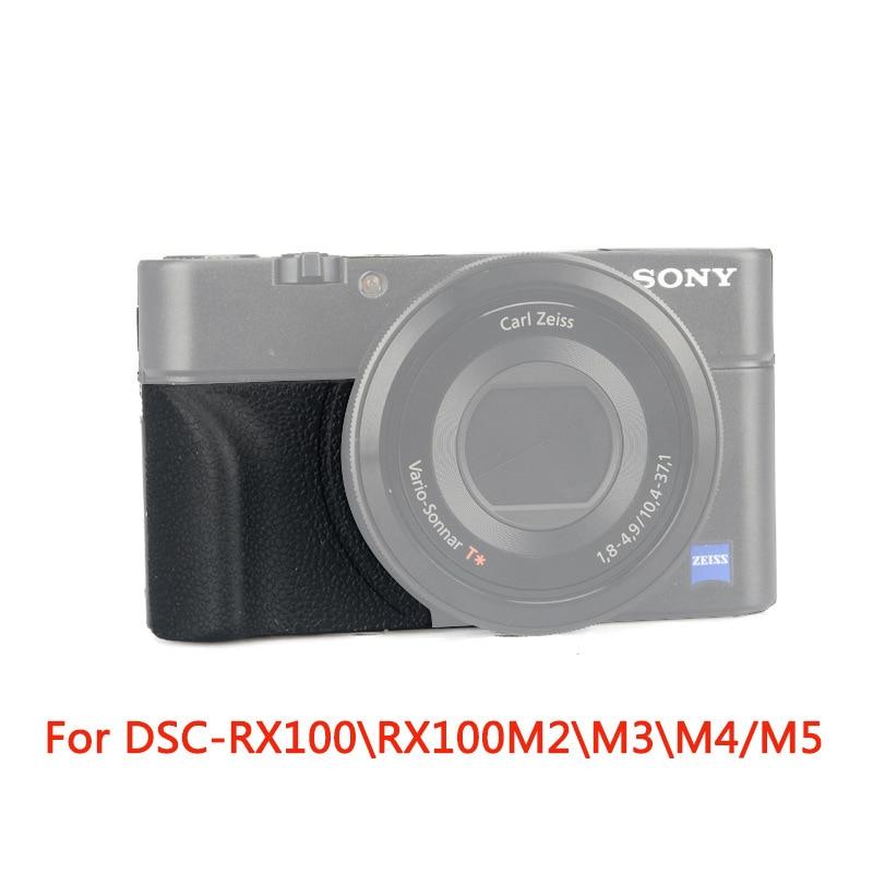 Black Sony AGR2  Grip for DSC-RX Series