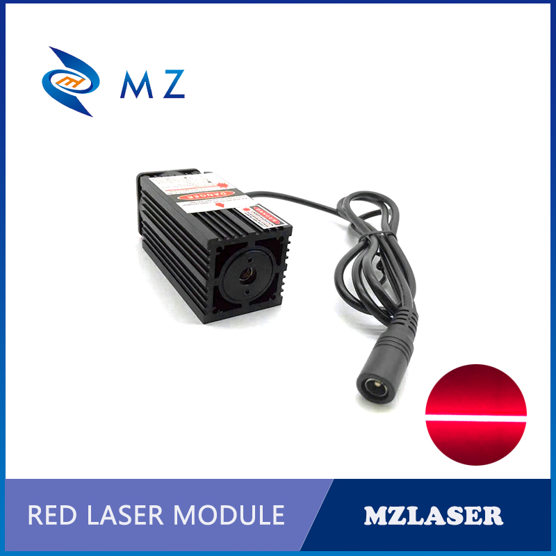 638nm With Thin Beam 300mw 500mw 1w Red Line Laser Module For Room Escape/ Maze Props/ Bar Dance Lamp