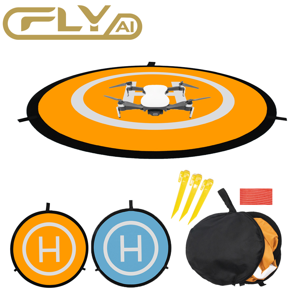 Avental 55cm 75cm 110cm do estacionamento do pouso do trem de pouso da almofada de pouso para dji mavic drones da faísca uav quadrocopter por C-FLY C-FLYAI