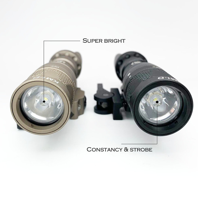 Tactical Light M323V Scout Light Constant & Strobe LED 500 Lumens with ADM Mount for Rifle Hunting Flashlight 3