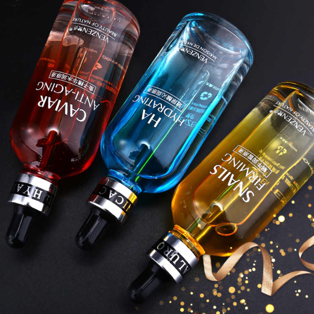 15/100ML Hyaluronic Acid Face Serum Oil Control Whitening Shrink Pores Facial Essence Skin Care เซรั่มความงาม moisturizer