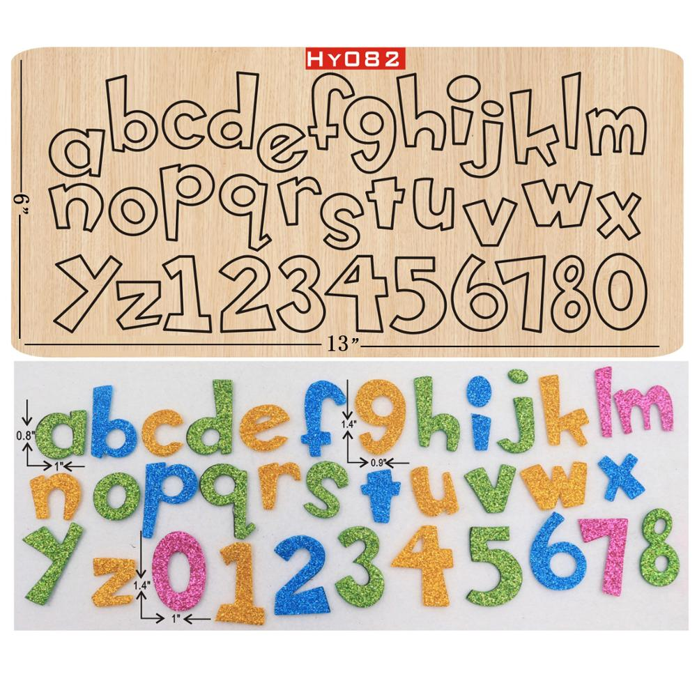 Letter Wooden Die Cutting Die Suitable For Common Die-cutting Machines In The Market