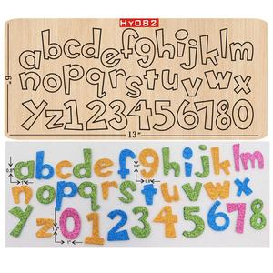 Image 1 - Letter wooden die Cutting Die Suitable for common die cutting machines in the market